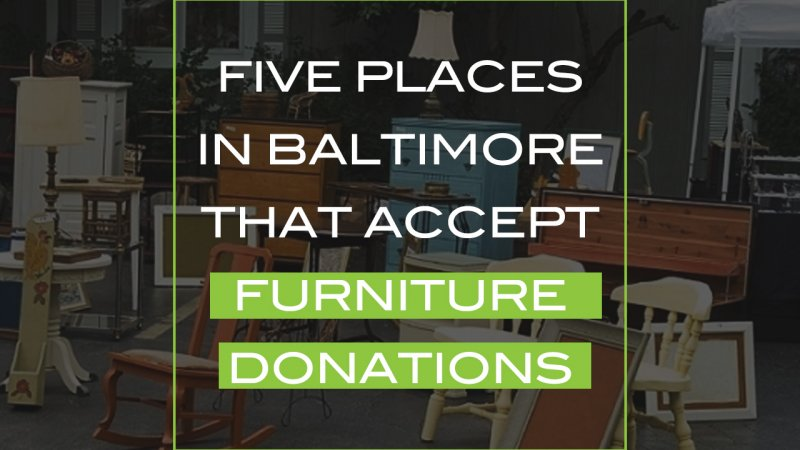Accept Furniture Donations